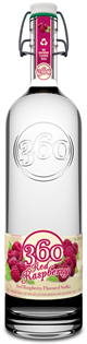 360 Vodka Red Raspberry 1.00l